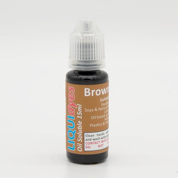 Brown - LIQUIDyes Candle Dye