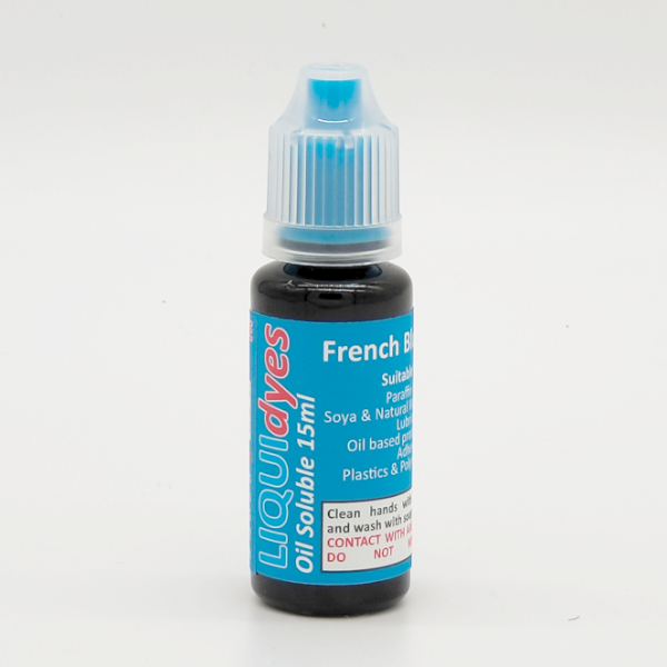 French Blue - LIQUIDyes Candle Dye
