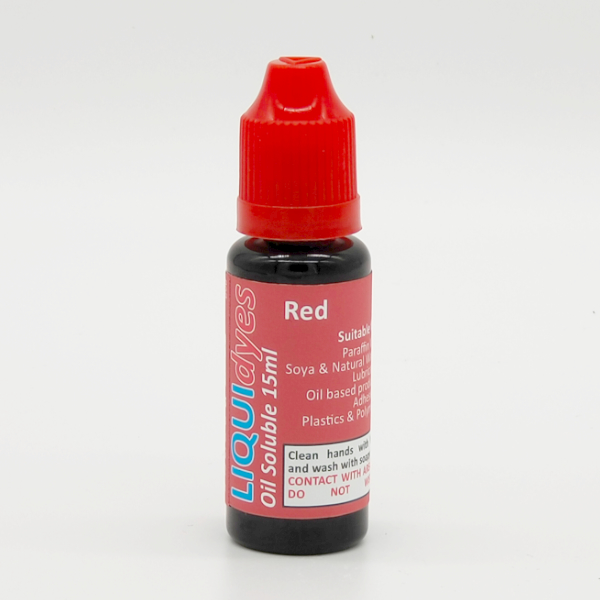 Red - LIQUIDyes Candle Dye