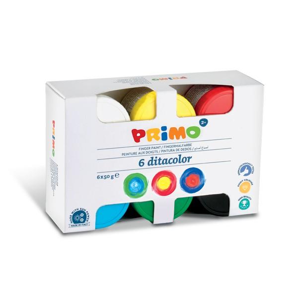 Finger paint 6 colours