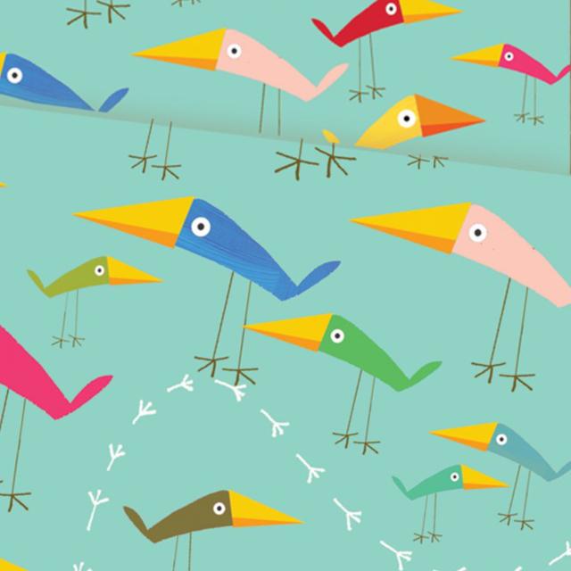 Birds Wrap