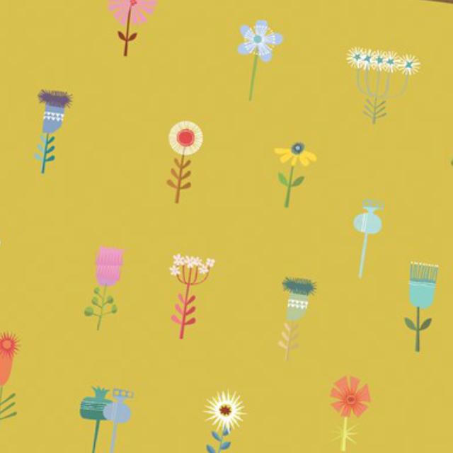 Yellow Flowers Wrap
