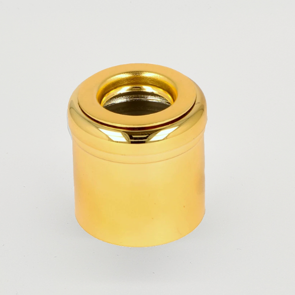 Glossy Gold Mushroom Diffuser Cap