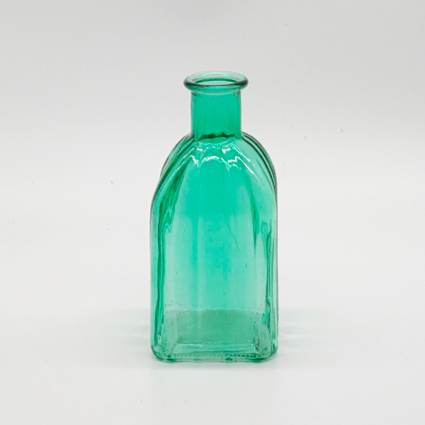 Green Square Base Plain Diffuser Bottle