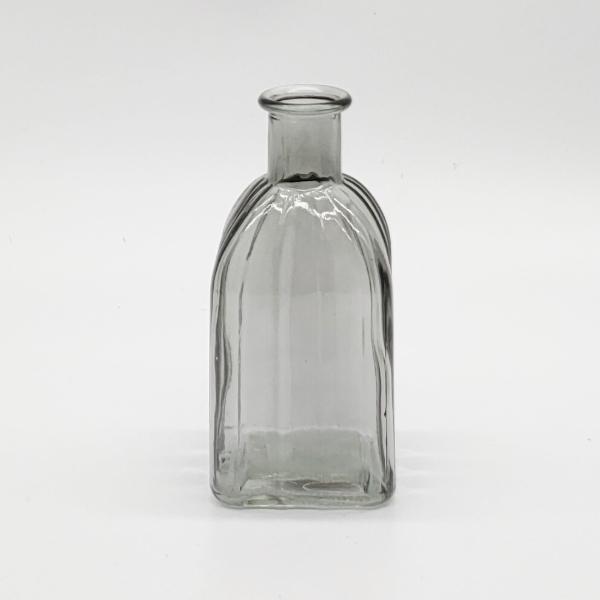 Grey Square Base Plain Diffuser Bottle