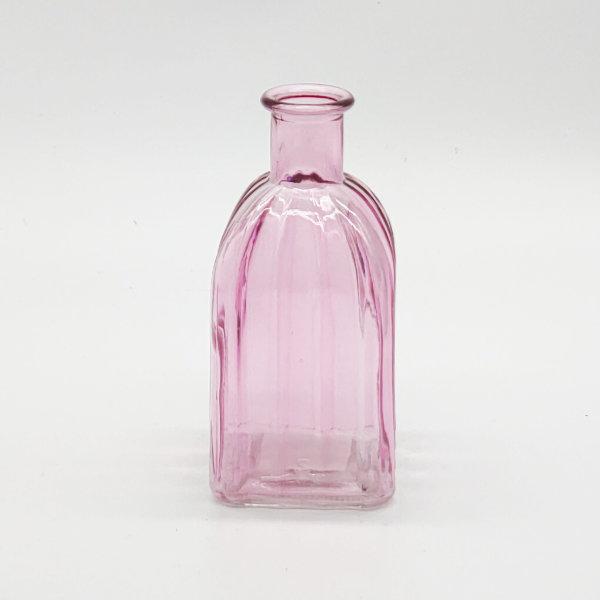 Light Pink Square Base Plain Diffuser Bottle