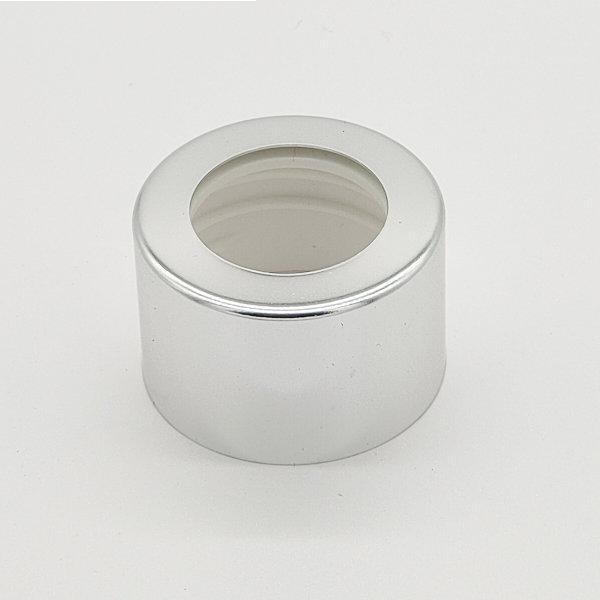 Plain Silver Diffuser Cap