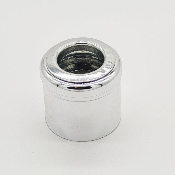 Glossy Mushroom Silver Diffuser Cap