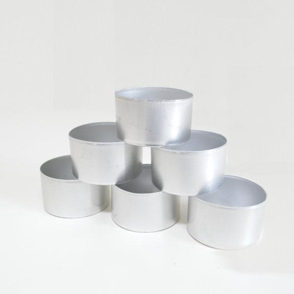 Aluminium Tealight Candle Cups