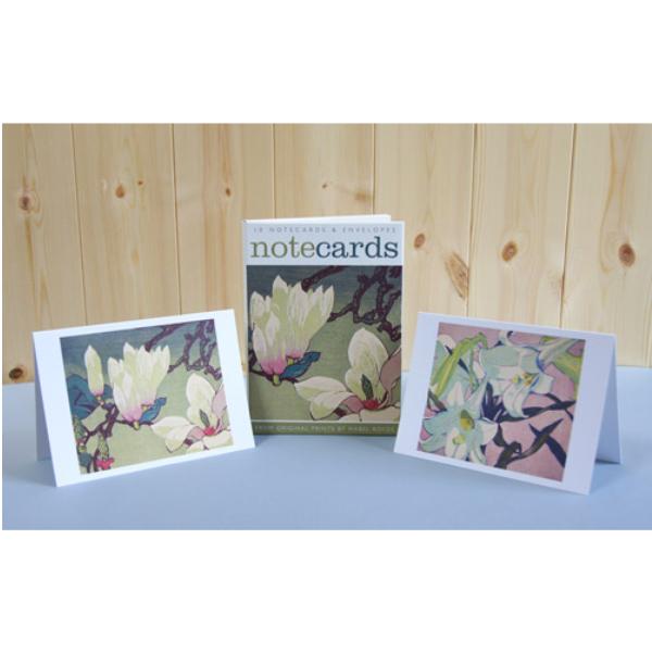 Magnolia/White Lillies Notecards