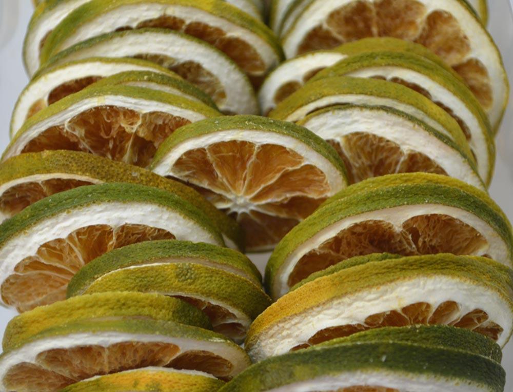 Green Orange Slices