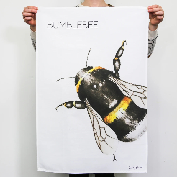 Bumblebee Tea Towel