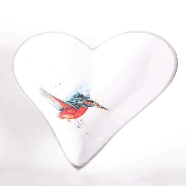 Kingfisher Heart Dish