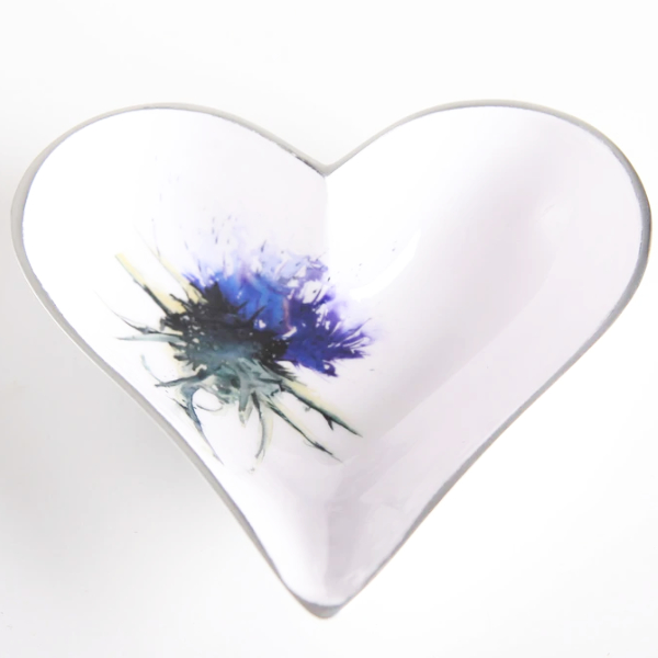 Thistle Dish Heart