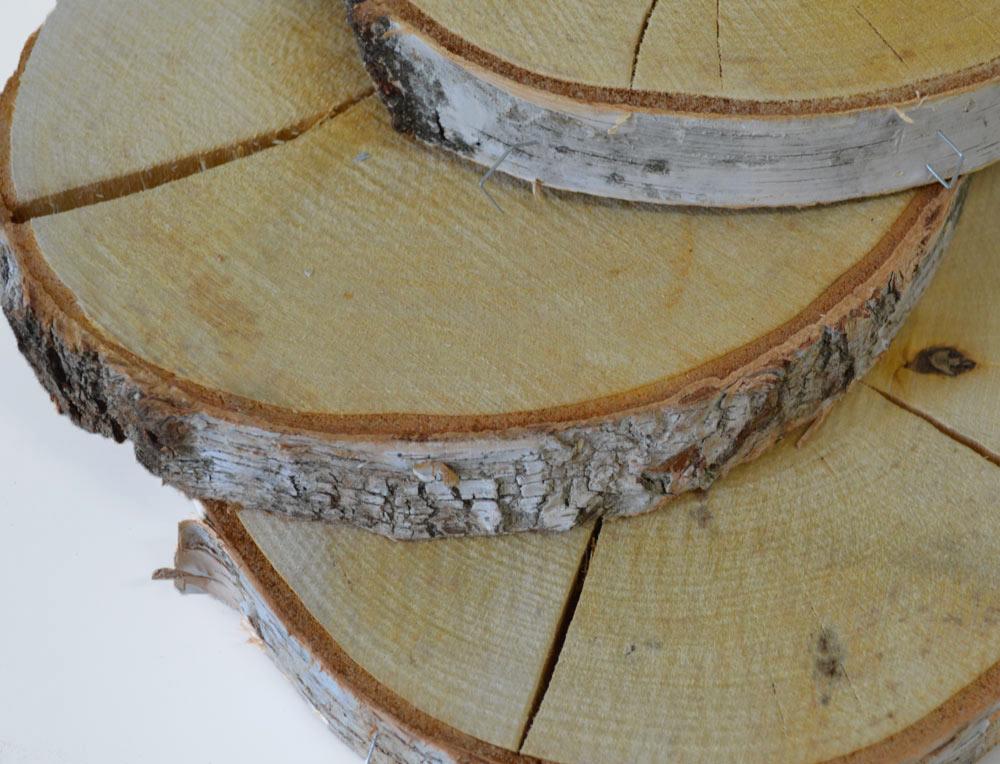 Round Wood Slices 25-30cm