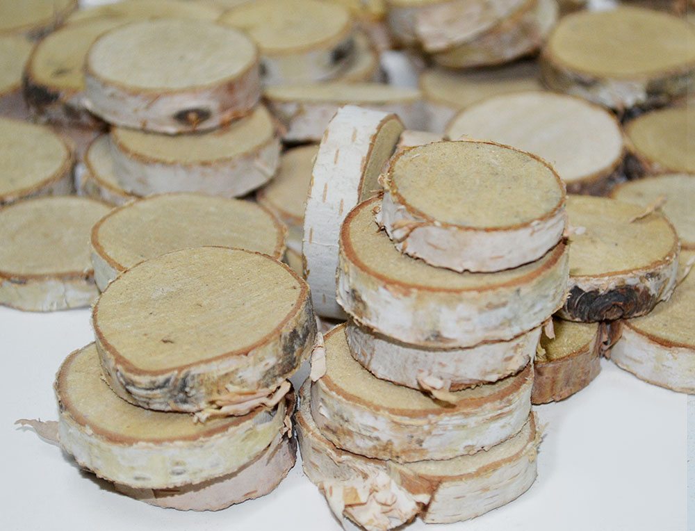 Round Wood Slices 4-5cm