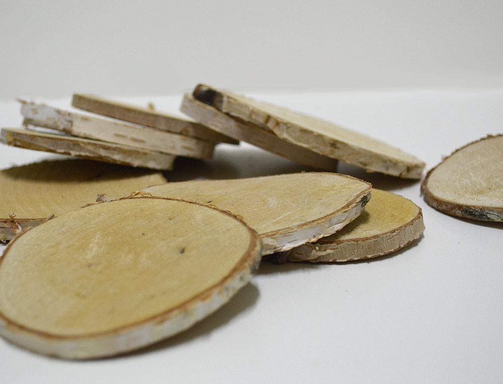 Round Wood Slices 7-8cm